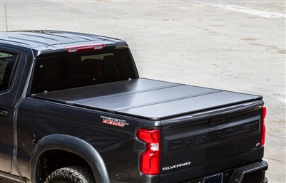 Toyota Tundra 2014 2021 Travel Pro 65 Series Hard Tri Folding Truck Bed Tonneau Covers 65 60670 65 60680